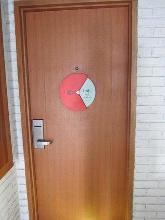 MaxOneHotels at Sabang: Room door