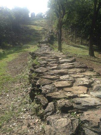 Wat Saphan Hin : The trek up