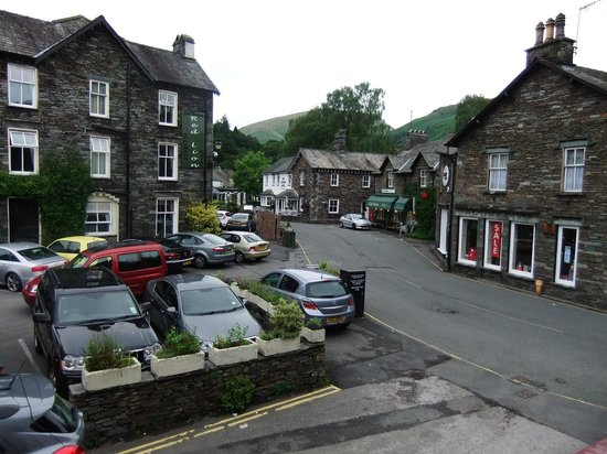Heidi's Grasmere Lodge: View from our window