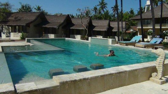 Satu Tiga Resort: Pretty much your own private pool