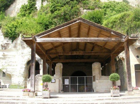 Monolithic Church of Saint-Jean of Aubeterre: Monolithic Church of Saint Jean of Aubeterre.