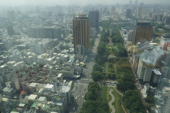 The Landis Taichung : Blick aus der 41. Etage