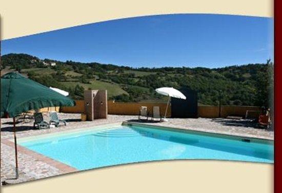 Agriturismo Castelsenese: La piscina