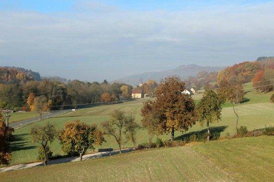 Landhotel Sonnenblick: Blick vom Balkon