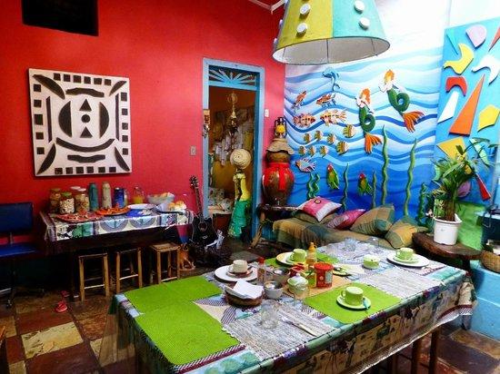 Pousada Daime Sono: Sala de café-da-manhã