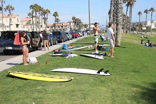 Dana Point, Καλιφόρνια: surf.