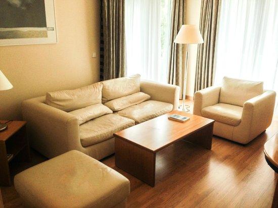 The Blazer Suites Hotel: living room