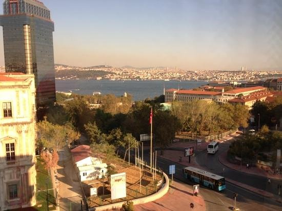 Grand Hyatt Istanbul : view from our room
