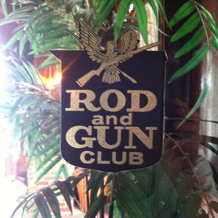 Rod and Gun Club : classic. The club was started in 1864.