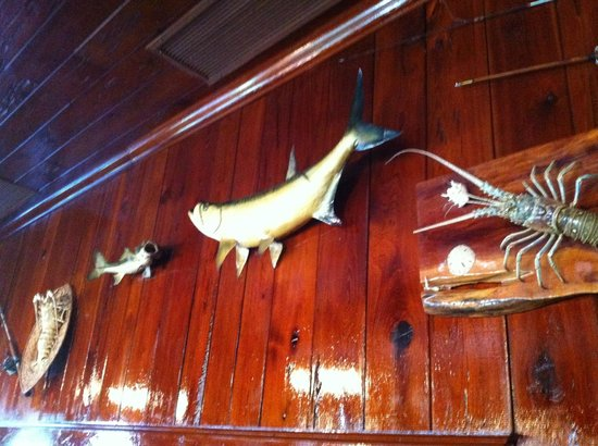 Rod and Gun Club : more trophys on the walls