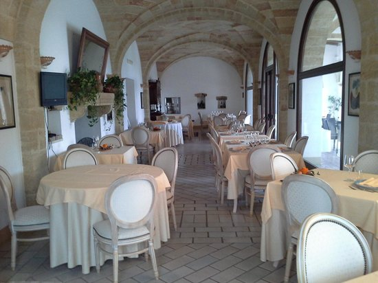 Masseria Ruri Pulcra Hotel & Resort : dining room