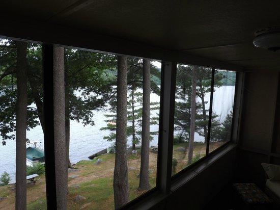 Boulders Motel & Cottages: #15 porch view