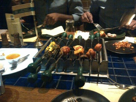how to order at barbeque nation