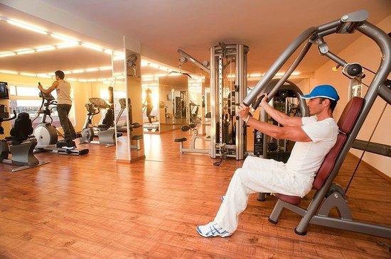 فندق وسبا بالم بلازا مراكش: Salle de Fitness