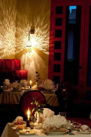 فندق وسبا بالم بلازا مراكش: Restaurant marocain
