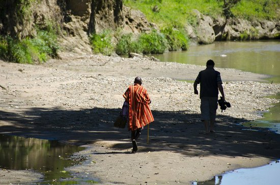 Nalepo Mara Camp: Walking safari along the Talek riverbed
