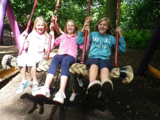 BeWILDerwood: The BIG swing.!