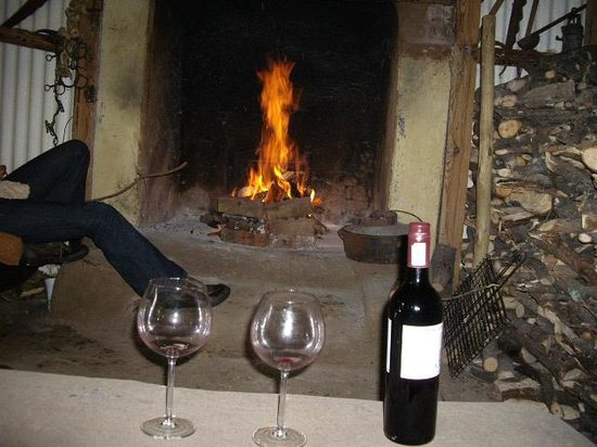 Waylands Country House: Having a drink in the Bivuac