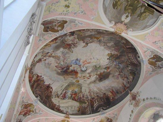 Oberammergau Church: soffitto