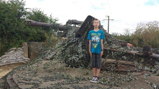Batterie de Maisy : Artillerie Gun