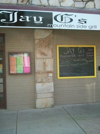 Jay G's Mountain Side Grill: Jay G's