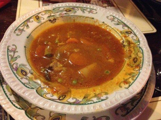 Kandles Restaurant: zuppa di verdure