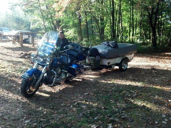 Asheville West KOA : Packed up and heading home