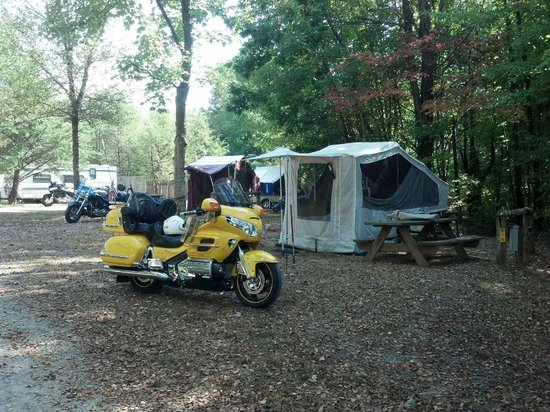 Asheville West KOA : Up hill from us - a few more of our members
