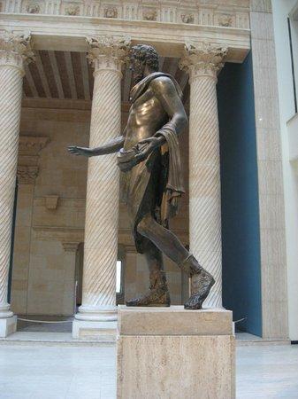 Musee du Cinquantenaire: Sculpture romaine rare en bronze de Septime Sevère
