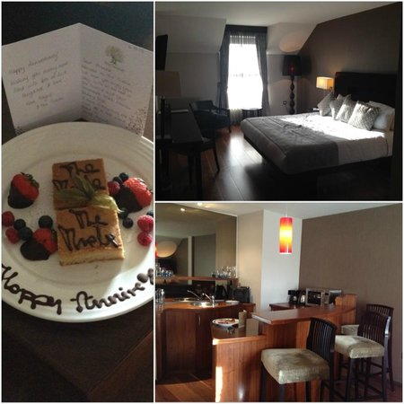 The Twelve Hotel: Welcome Gift and luxury suite