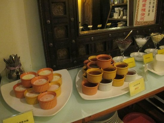 Zen Meal Vegetables Restaurant : Dessert