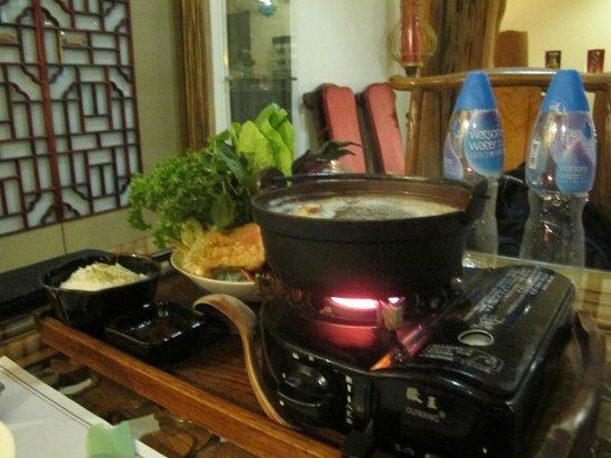 Zen Meal Vegetables Restaurant : Hot pot