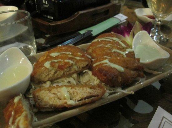 Zen Meal Vegetables Restaurant : Chicken nuggets