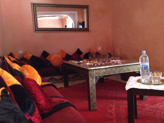 rideau marocain picture of riad princesse du desert marrakech tripadvisor. Black Bedroom Furniture Sets. Home Design Ideas