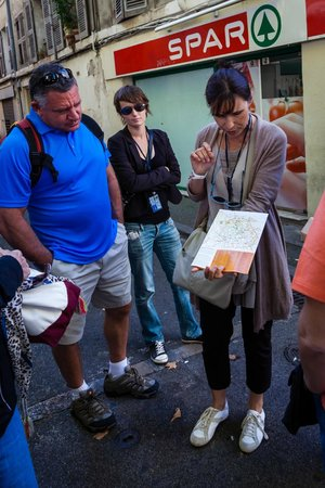 Tour Designer in Provence Private Tours: Catherine explains where we are