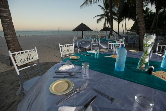 Diani Reef Beach Resort & Spa: reception setup