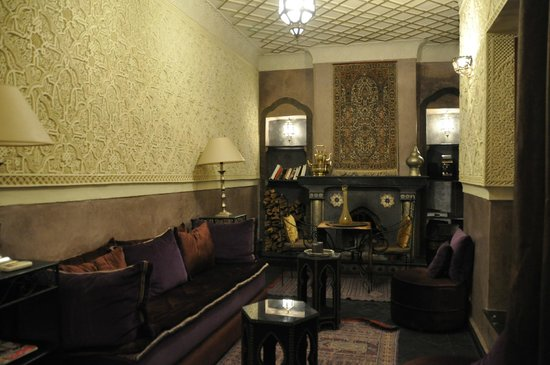 RIAD ELYTIS : The stunning lounge area, for all to use