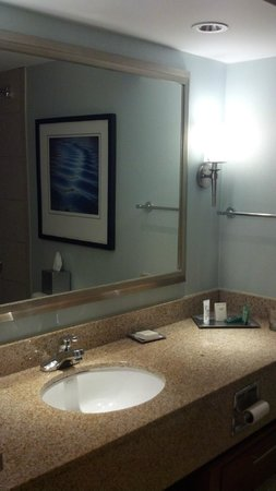 Hilton Long Island/Huntington : Bathroom