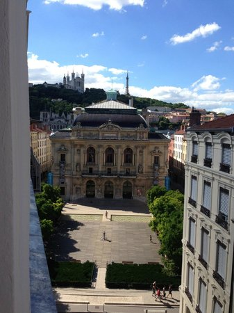 Hotel des Celestins : View from the Apartment