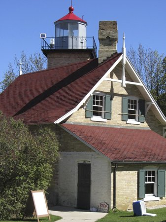 Peninsula State Park: Eagle Point Lighthouse