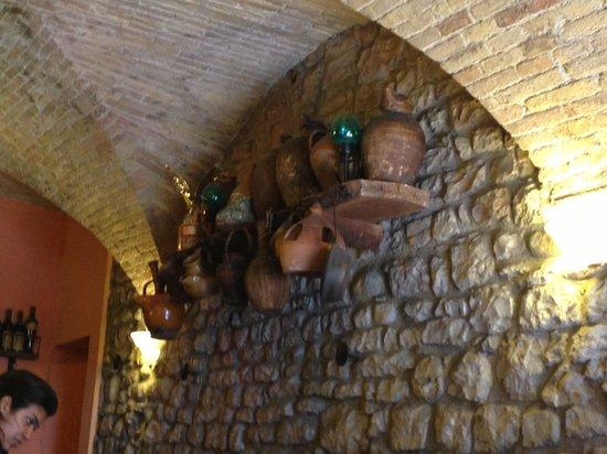 Ristorante da Cecco: Interior decor
