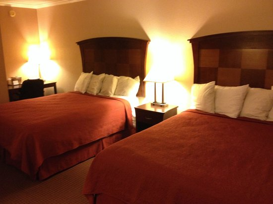 Quality Inn San Simeon: Double queen