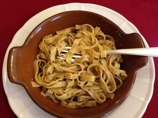 Ristorante da Cecco: Mushroom pasta dish