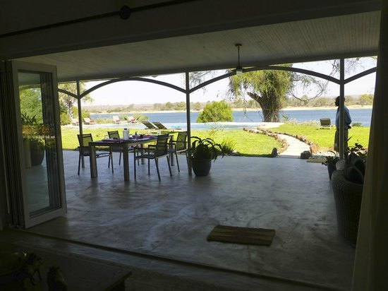 Waterberry Zambezi Lodge: we ate all of our meals here - lovely
