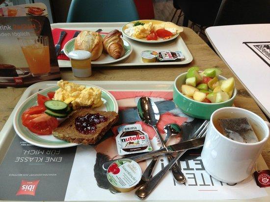 Ibis Köln Messe: Breakfast