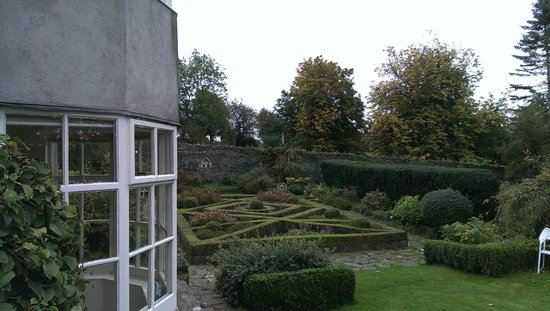 Griesemount House: the view from the porch