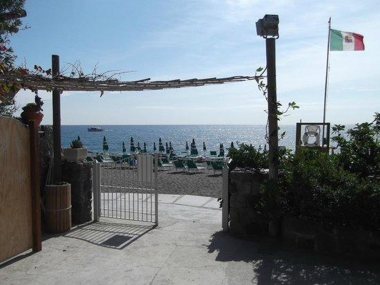 Hotel Parco Smeraldo Terme: Blick auf den traumhaften Strand