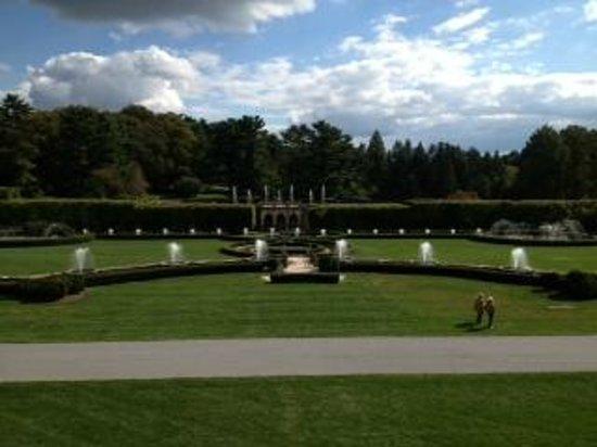 Longwood Gardens: famous Longwood fountains