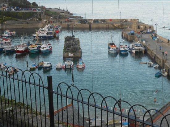The harbour taken from the Fort Inn