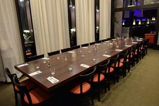 Restaurant Pacini Levis : Salon Privé